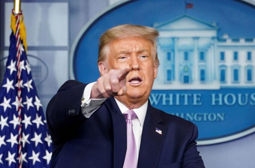 Trump anuncia que EE.UU. también está «muy cerca» de aprobar una vacuna