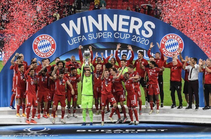 Bayern Múnich, campeón de la Supercopa de Europa tras vencer 2-1 al Sevilla