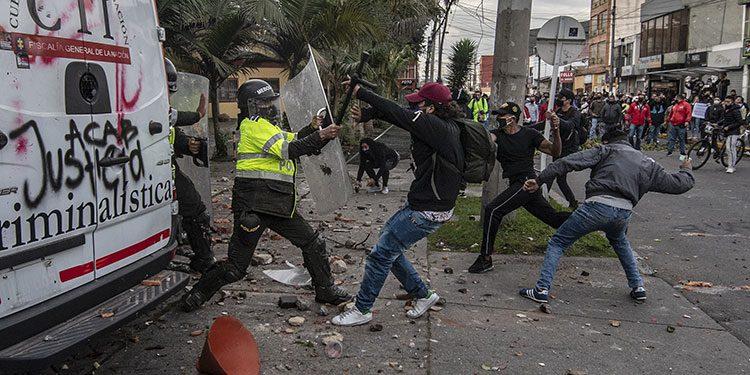 La CIDH condena los «casos de brutalidad policial» en Colombia