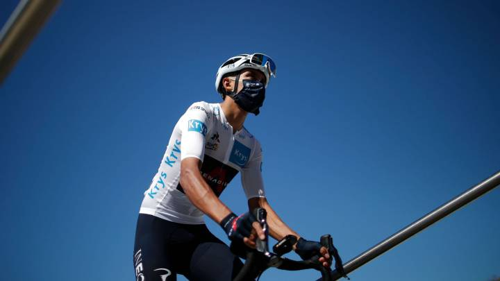 Clasificación general Tour de Francia 2020 tras etapa 11