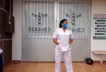 Enfermeras de Acacías exigen a IPS Solimed el pago de tres meses de salario