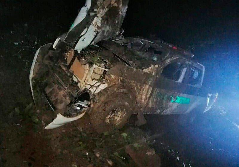 6 policías ilesos en ataque terrorista en Guaviare