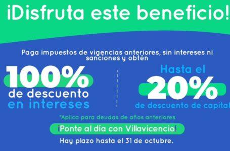 31 de octubre vence plazo por descuentos en obligaciones de impuestos