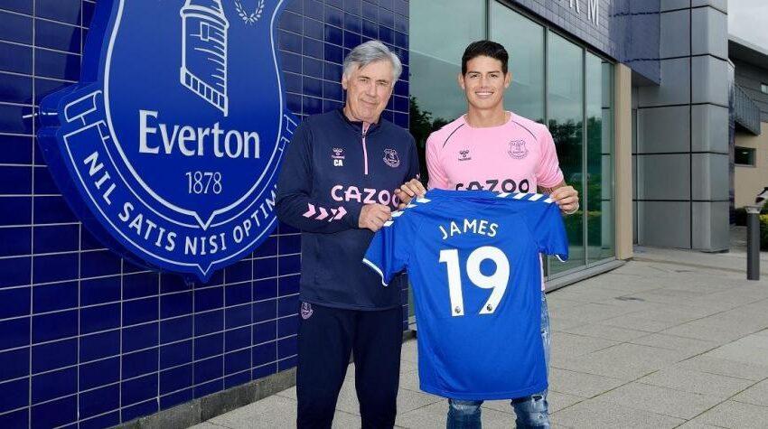 Hasta el New York Times elogia a James Rodríguez por su nivel en el Everton