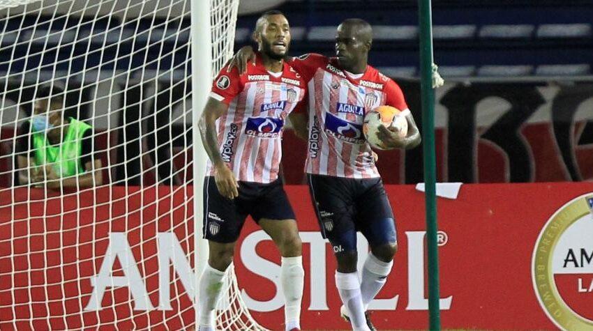 Junior vence 4-1 a Independiente del Valle en Libertadores; tripleta de Carmelo Valencia