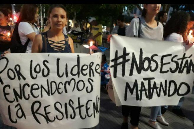 Las defensoras de DD.HH. en Colombia resisten entre amenazas y asesinatos