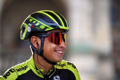 Esteban Chaves volvió a estar con los mejores en la Vuelta y va muy bien en la general