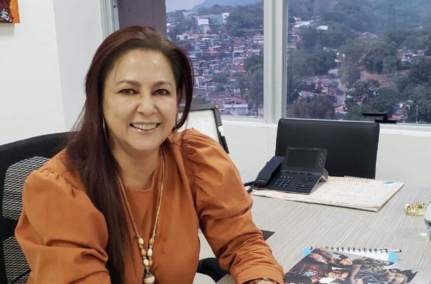Haidy Villalba fue encargada de la Dirección de Turismo