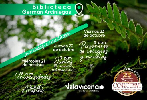 Corcumvi inicia talleres que proyectaran la creación de un museo para Villavicencio