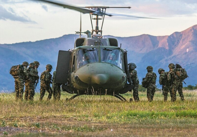 El ejército persigue a los disidentes que orienta Boyaco