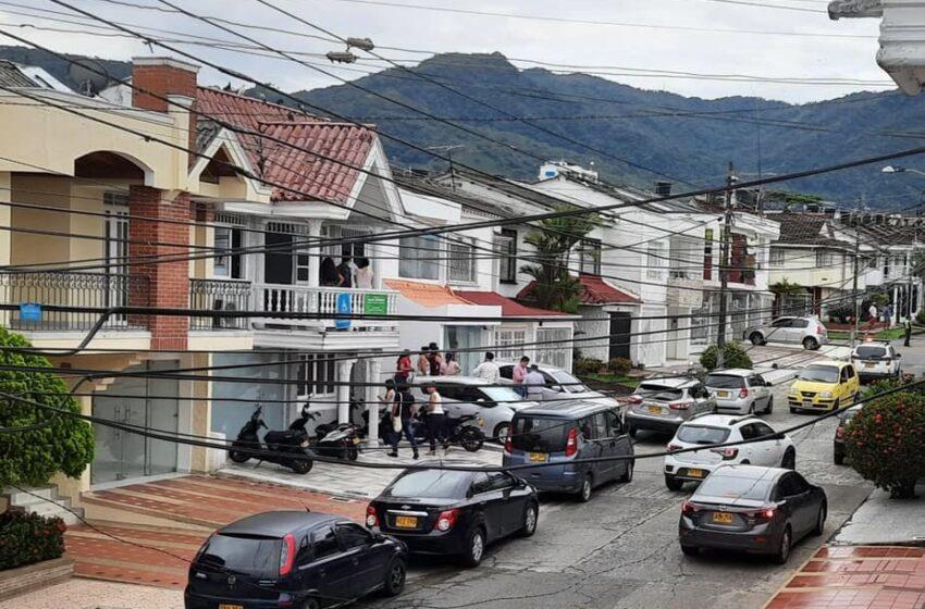 Explosivo fue hallado en el barrio Villa María al parecer para presionar una extorsión