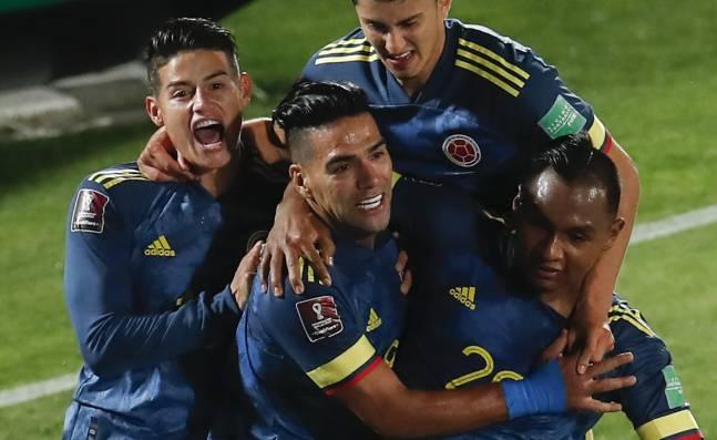 El Tigre Falcao de sarpazo rescató un punto de oro para Colombia