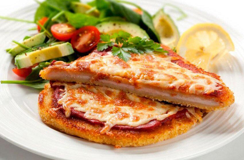 Milanesa a la napolitana un delicioso almuerzo