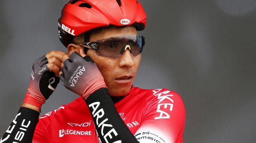 Nairo Quintana tendrá varios meses de incapacidad por operación de rodillas
