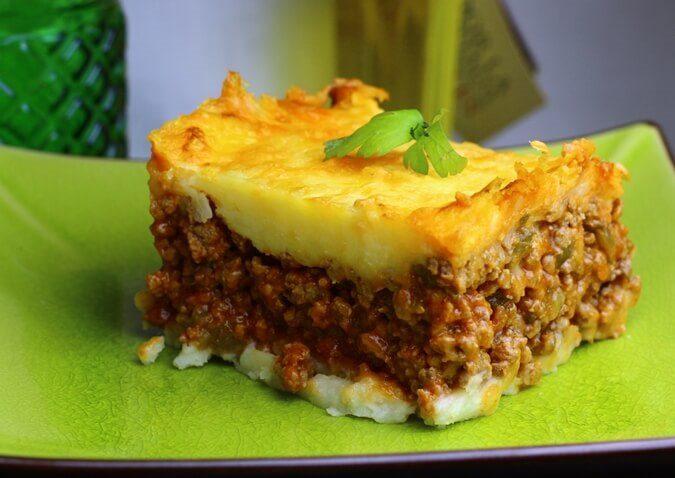 El pastel de carne es un plato nutritivo y familiar ¡De lo mejor!