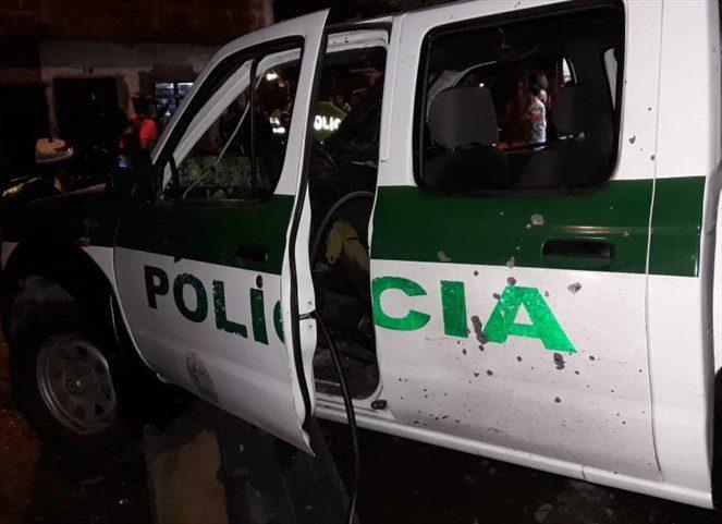 Se recuperan heridos por explosivo lanzado a una patrulla de la policía en la Macarena