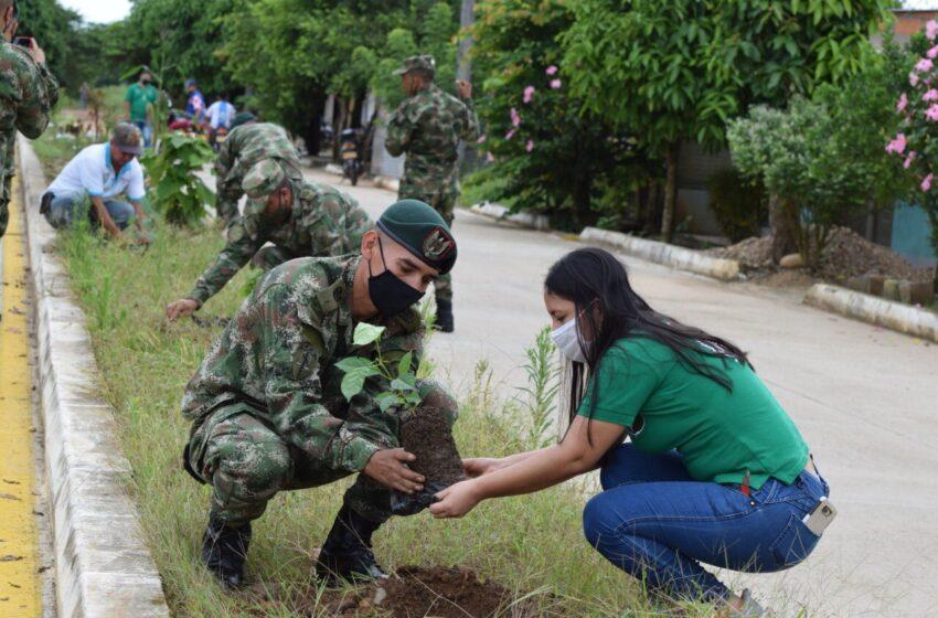 El trabajo social también anima a los militares señala el Comandante de la Cuarta División