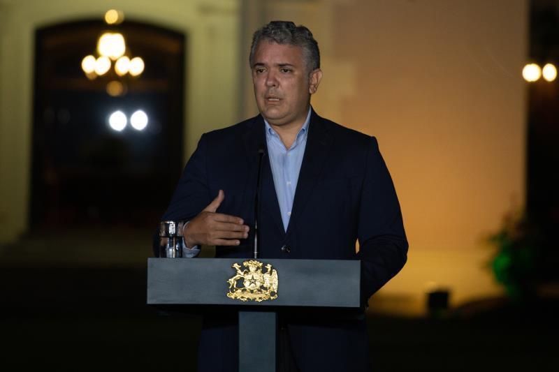 Duque extiende emergencia sanitaria en Colombia hasta febrero de 2021