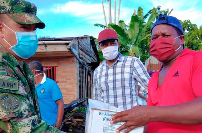 Agradecen la ayuda del ejército para habitantes y comunidades indígenas de Vaupés