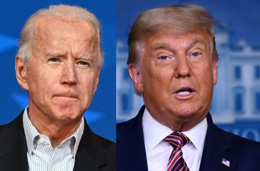 Biden pide unirse contra la pandemia mientras Trump sigue enredado en pleitos