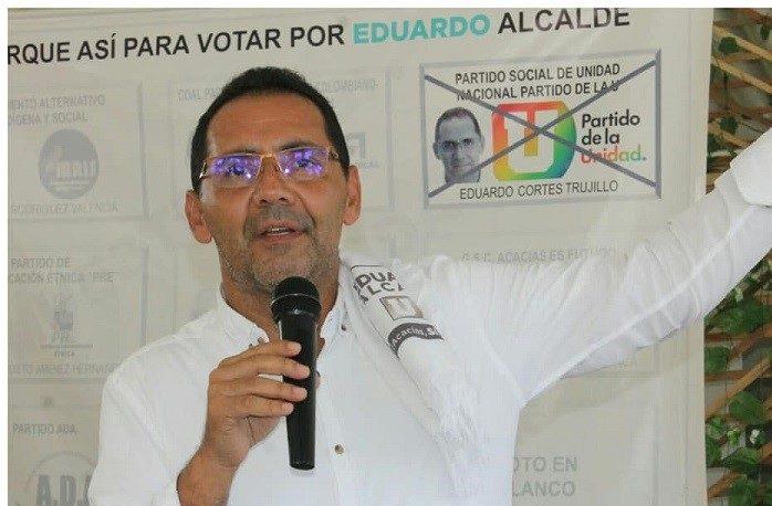Procuraduría pidió negar pretensiones de demanda contra el alcalde de Acacías Eduardo Cortés Trujillo