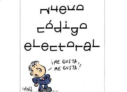 Nuevo código electoral