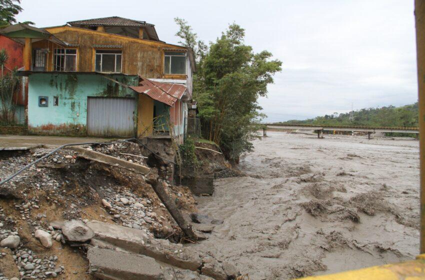 Radican Acción Popular ante daños causados por desborde del Guayuriba