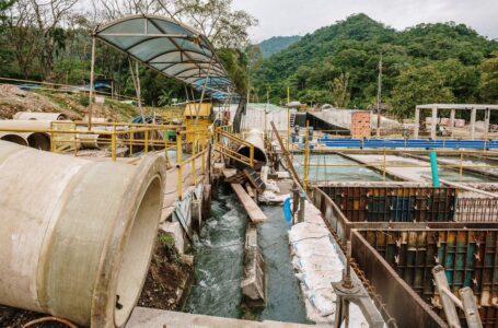 Contraloría constató avance del 80 por ciento de obras en planta de tratamiento de la Esmeralda