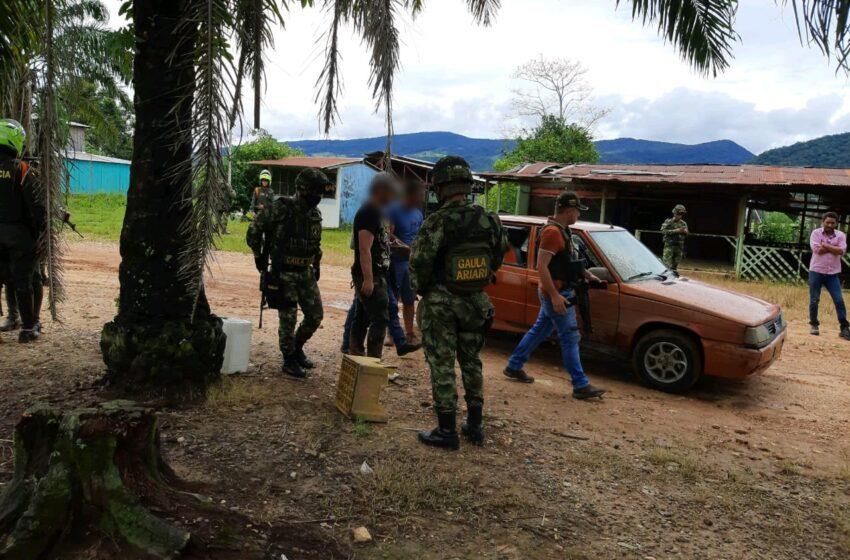 Rescatan a tres contratistas secuestrados en Vistahermosa