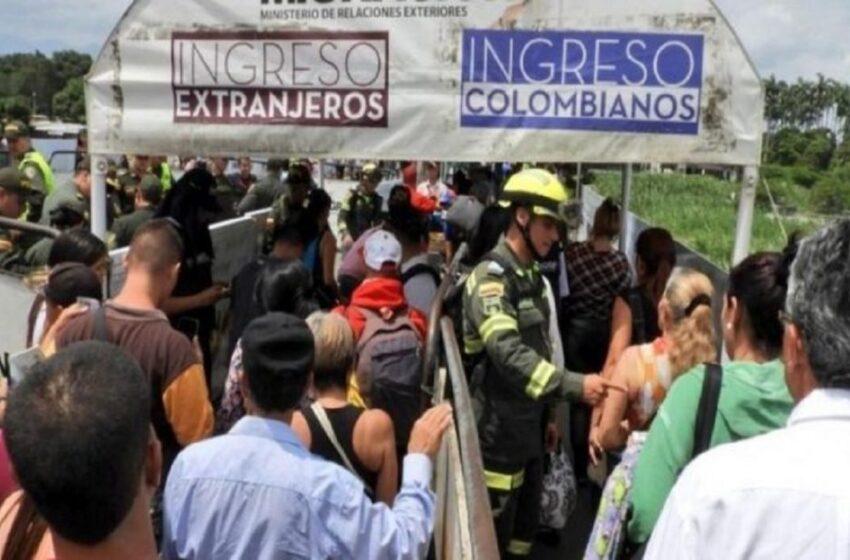 En Colombia hay 1,715.831 venezolanos