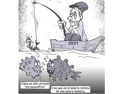 Pescando un empleo