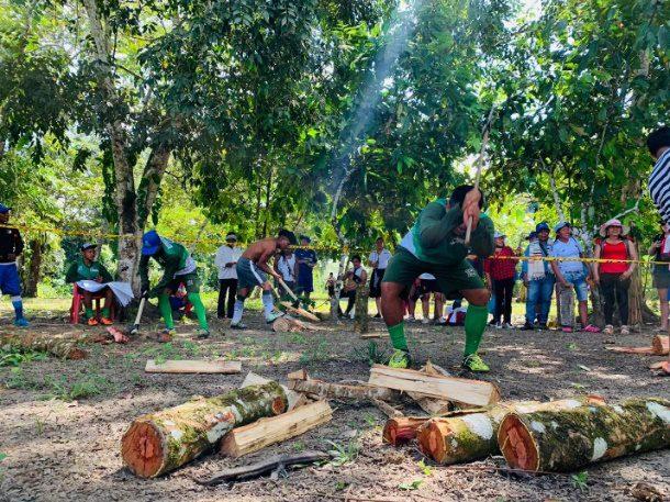 Juegos ancestrales indigenas 2020 finalizaron con éxito en el resguardo indigena Maguaré