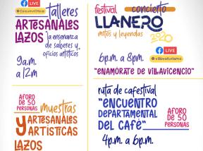 Artesanias, conciertos y mucho café en el festival Llanero