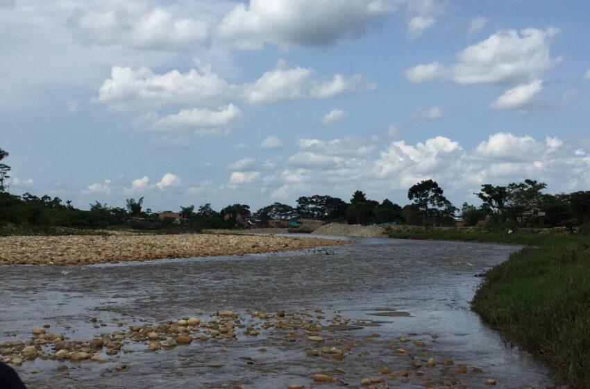El Río Ocoa por red de alcantarillado se entra a las casas en la Rosita