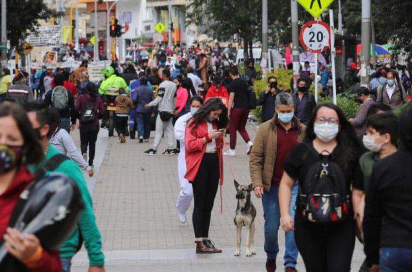 Colombia sobrepasa los 1,8 millones de contagios con 15.003 nuevos positivos