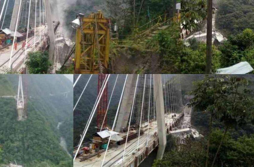 Puente voladizo sucesivo construirán en Chirajara tras el colapso del atirantado hace tres años