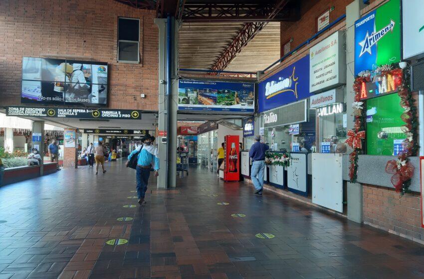 Terminal de transportes despachará vehículos hoy y durante el fin de semana con puente festivo