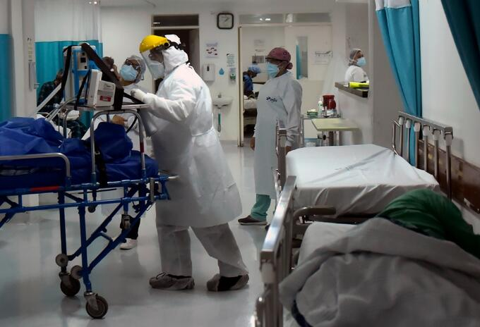 Alerta roja en centros hospitalarios decretarán en el Meta y no prolongarán el Toque de queda