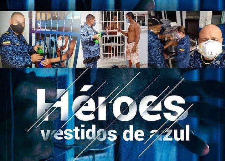 Con Moringa, Jengibre, Yerbabuena y Limones, aparecen en Villavicencio los Héroes vestidos de azul