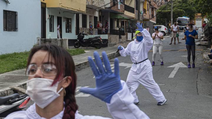 En Colombia más de 57 mil muertos por  coronavirus, pero disminuyen los contagios