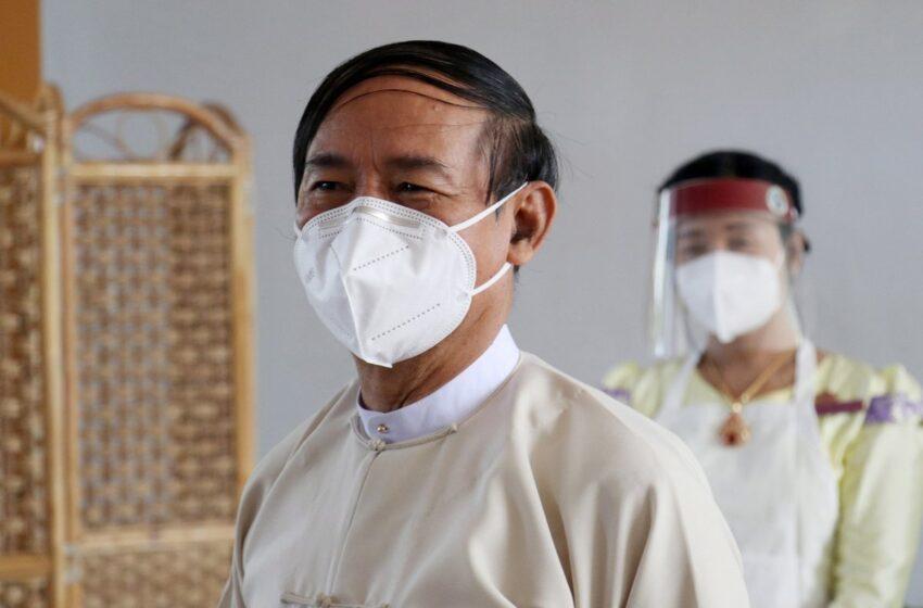 El Ejército interroga al presidente de Birmania depuesto tras el golpe
