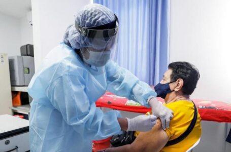 815 son los primeros vacunados contra el coronavirus informó la ESE municipal