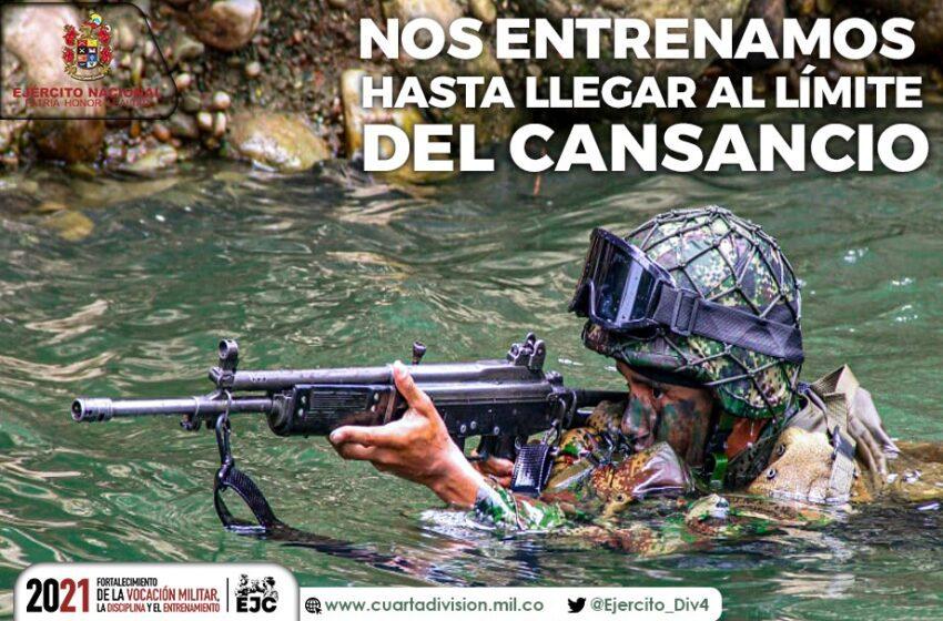Ejército arrecia contra delincuentes en Meta, Guaviare y Vaupés, jurisdicción de la Cuarta División