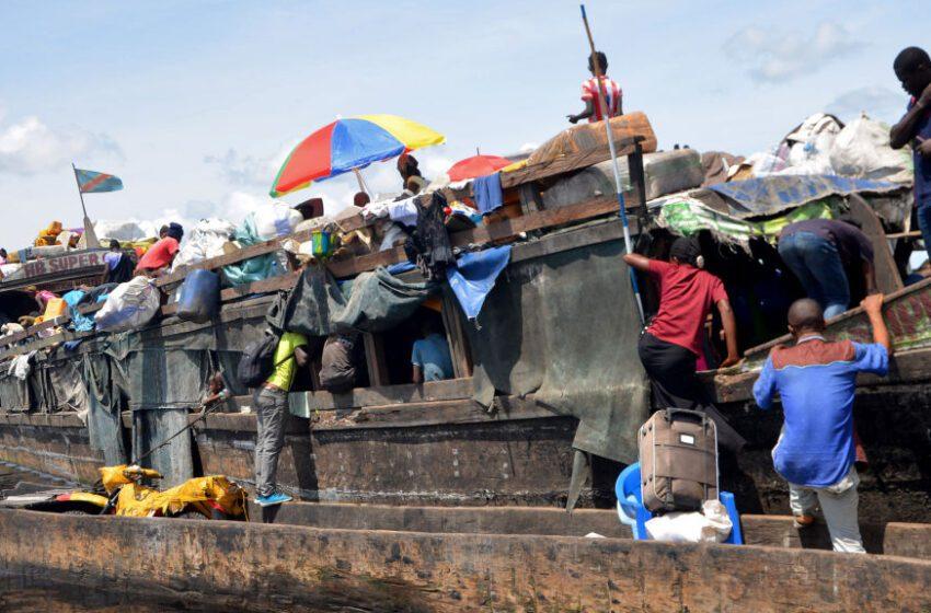 Al menos 60 muertos en un naufragio en la República Democrática del Congo