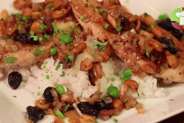 Pollo a la marroquí una receta con mucho sabor