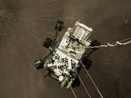 La NASA divulga el primer vídeo y sonido del aterrizaje de Perseverance en Marte