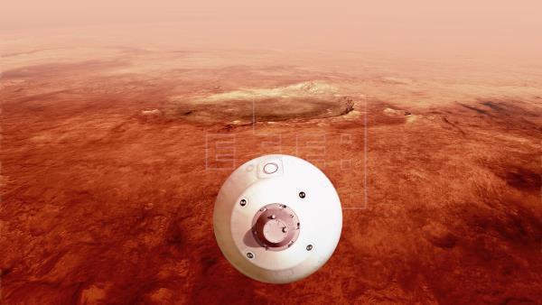 Perseverance, listo para aterrizaje a ciegas en Marte tras viaje de 7 meses