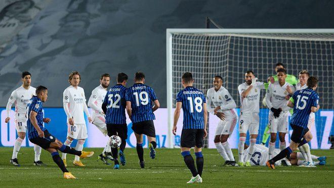 Muriel se manda golazo ante Real Madrid, pero Atalanta queda eliminado
