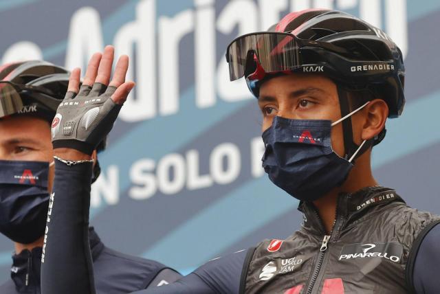 Egan Bernal terminó de cuarto la Tirreno Adriático, clasificación general final