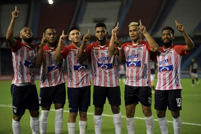 Junior avanza en Libertadores ante un Caracas que habría llegado con contagiados